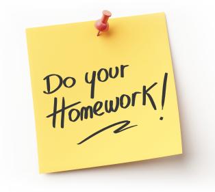 should i do my homework